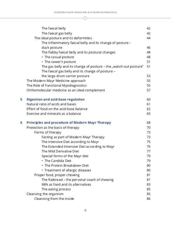 Ebook - Modern Mayr Medizin content 2