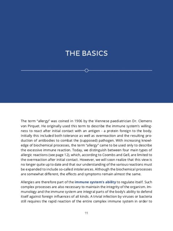 Cover Treating Allergies Dr. Stossier Basics 1
